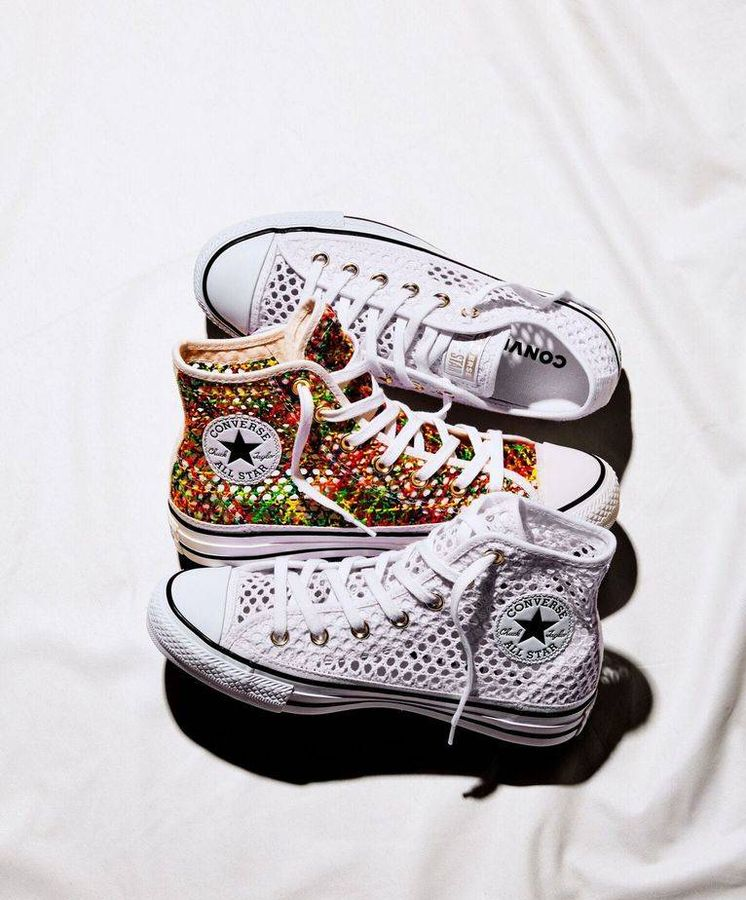 Foto: Nueva colección de Converse. (Cortesía)