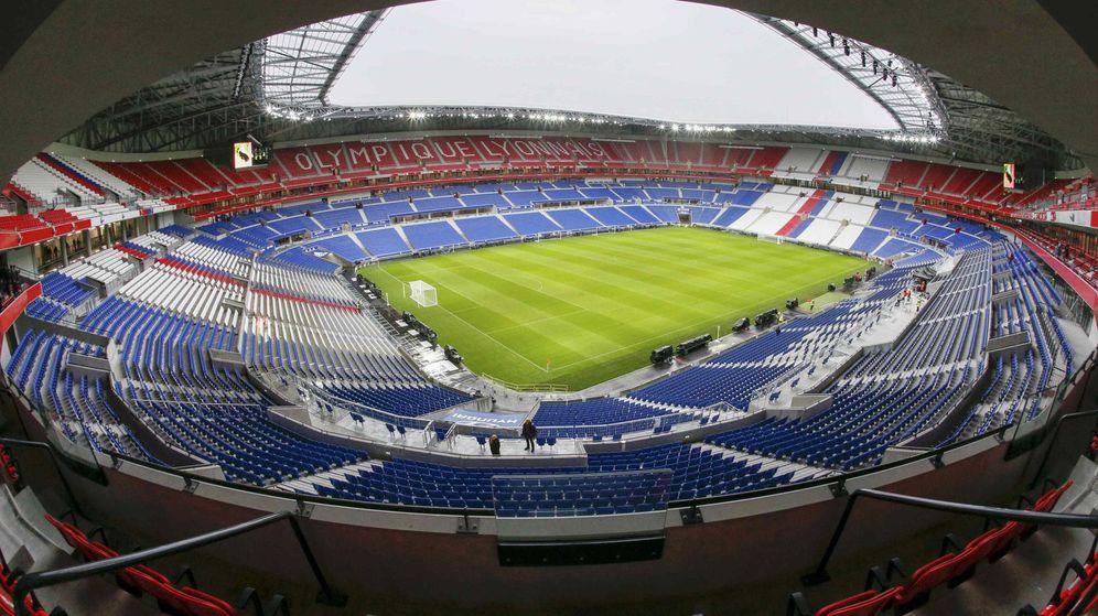 Foto: El Parc Olympique Lyonnais solo acogerá a 10.000 atléticos. (EFE)