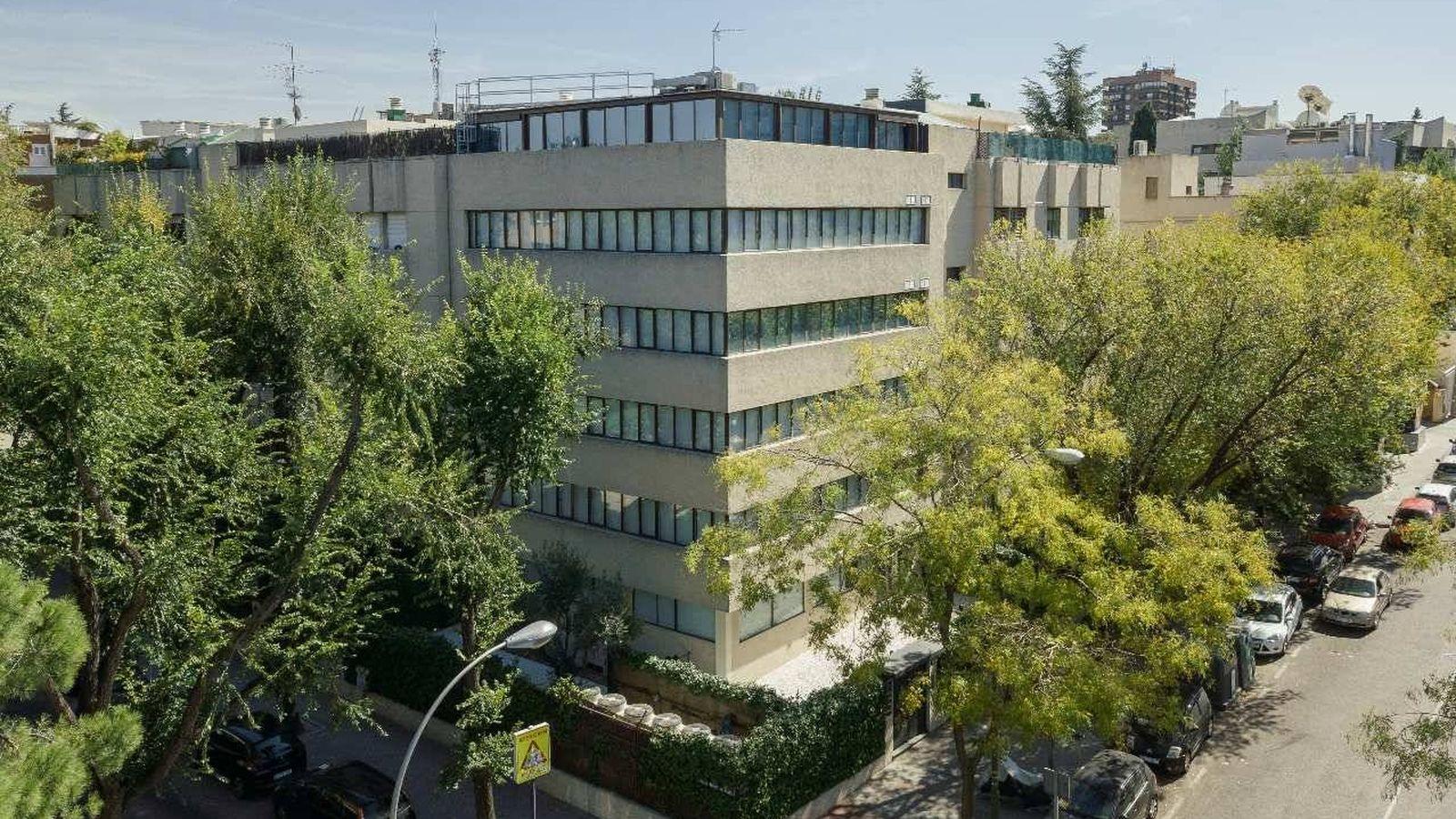 Foto: Sede del Grupo Squirrel Capital en Madrid.