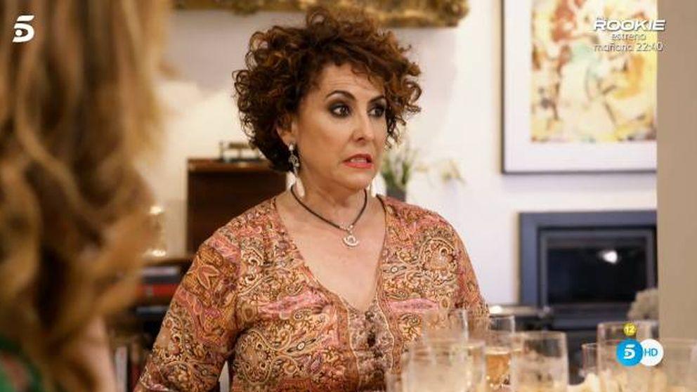Loles hiere los sentimientos de Irma Soriano con sus zascas en 'Ven a cenar...'