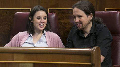Pablo Iglesias e Irene Montero, complicidad más que política en el Congreso
