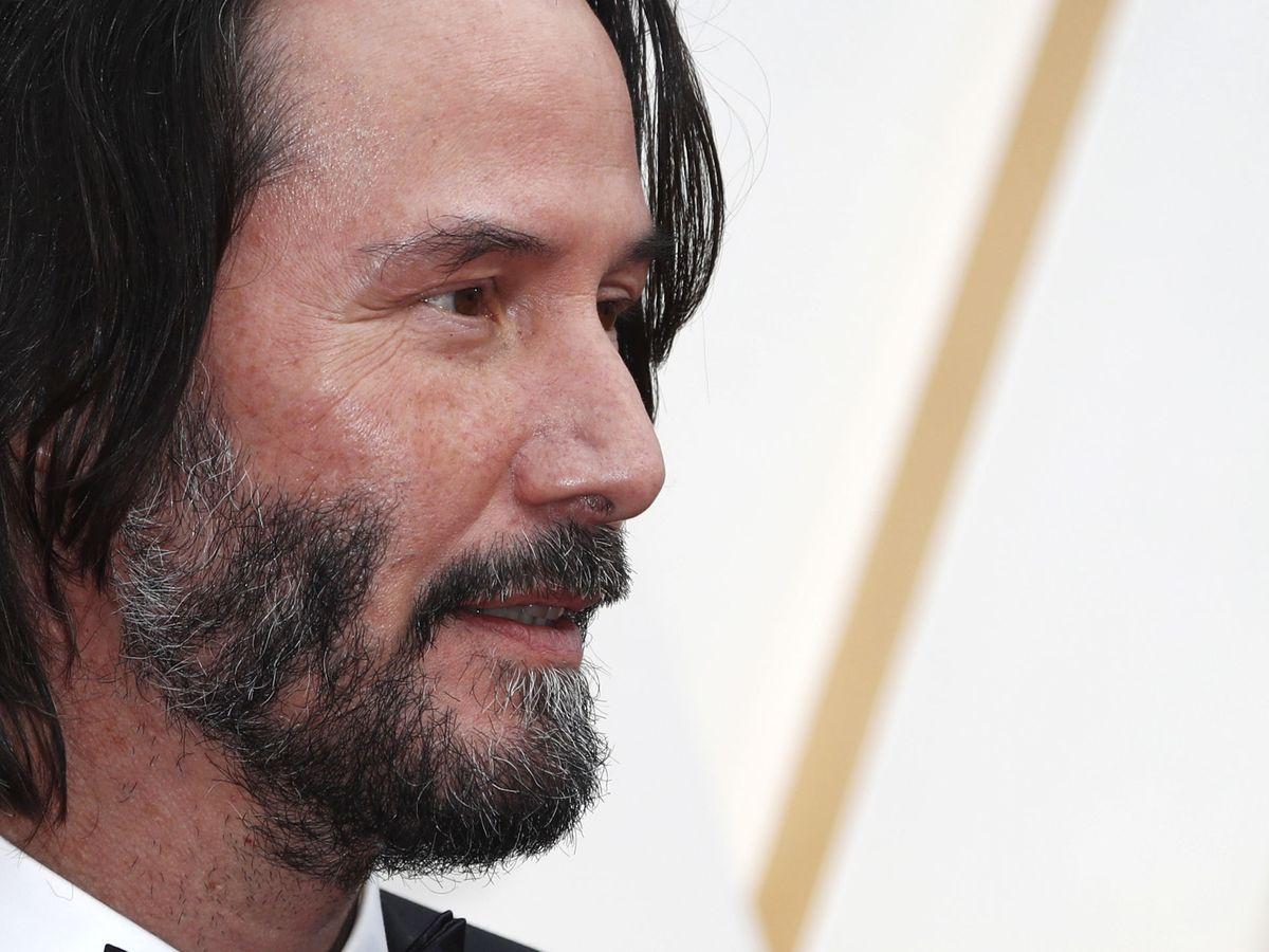 Foto: Keanu Reeves, en los últimos Oscar. (Reuters)