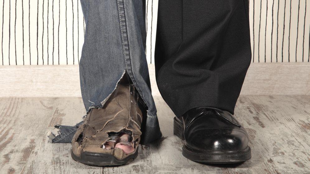 Foto: España, el país de la OCDE donde más crece la desigualdad entre ricos y pobres (iStock)