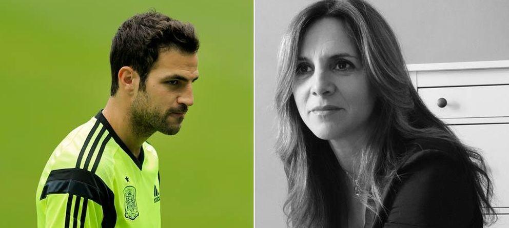 Foto: El jugador y su madre, Nuria Soler