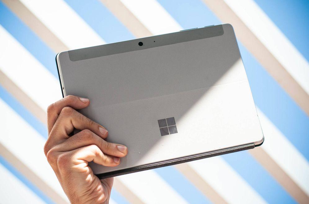 Foto: La Surface Go de Microsoft. (C. Castellón)
