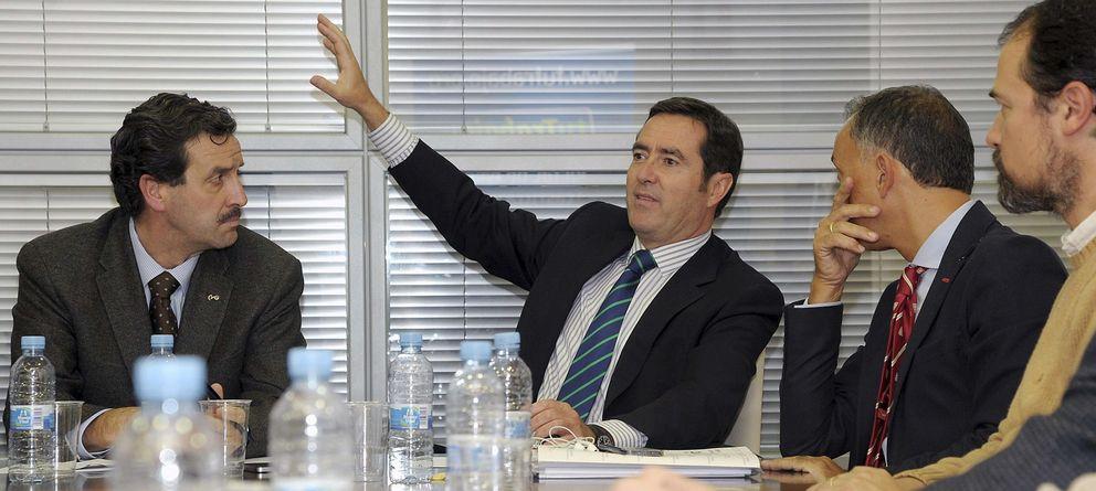 Foto: El candidato a la presidencia de CEOE, Antonio Garamendi. (EFE)