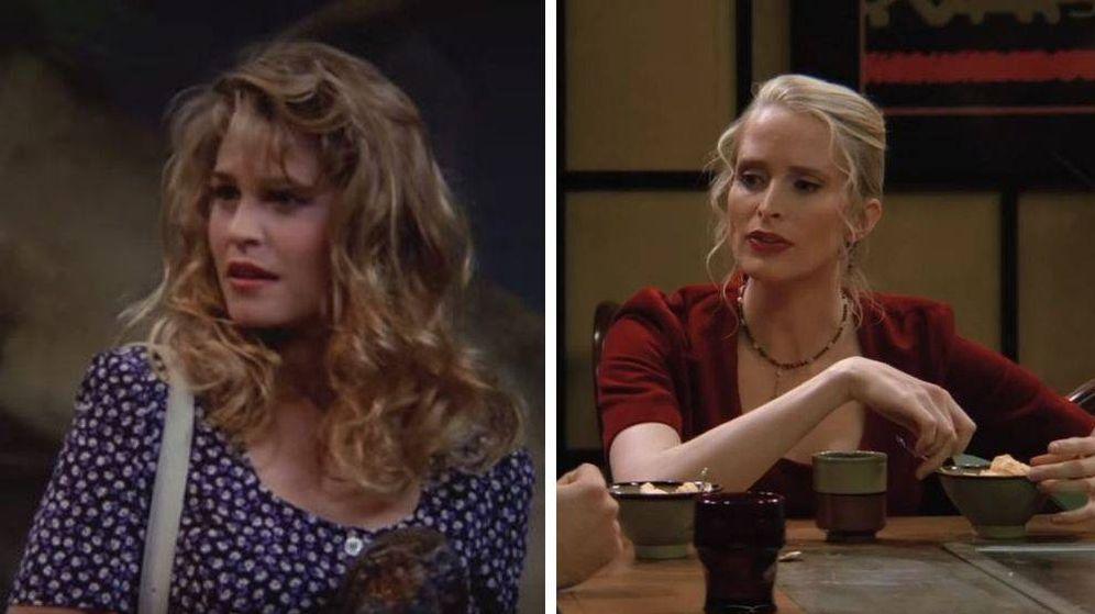 Foto: La actriz que interpretaba a Carol en 'Friends' cambió al principio de la serie