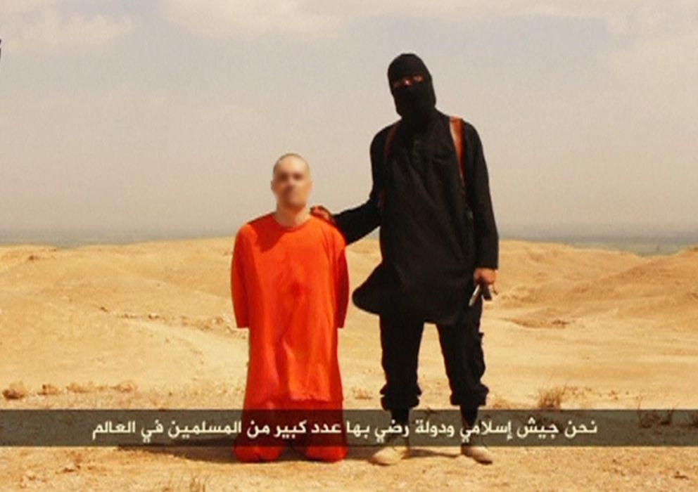 Foto: Fotograma del vídeo donde el terrorista ejecuta al periodista James Foley (AP)