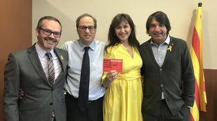 Torra, de oficial de España a mariscal de Cataluña: por qué no fue nunca payés