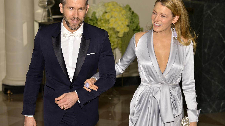 Foto: Ryan Reynolds y Blake Lively en una cena de gala en la Casa Blanca (Gtres)