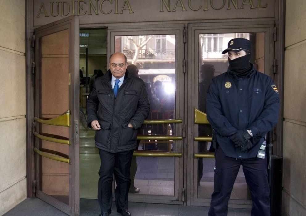 Foto: El antiguio propietario de Viajes Marsans Gerardo Díaz Ferrán a su salida de la Audiencia Nacional. (EFE)