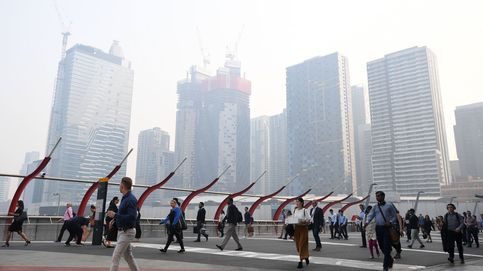 La ciudad australiana de Melbourne, la zona con peor aire del mundo por los incendios
