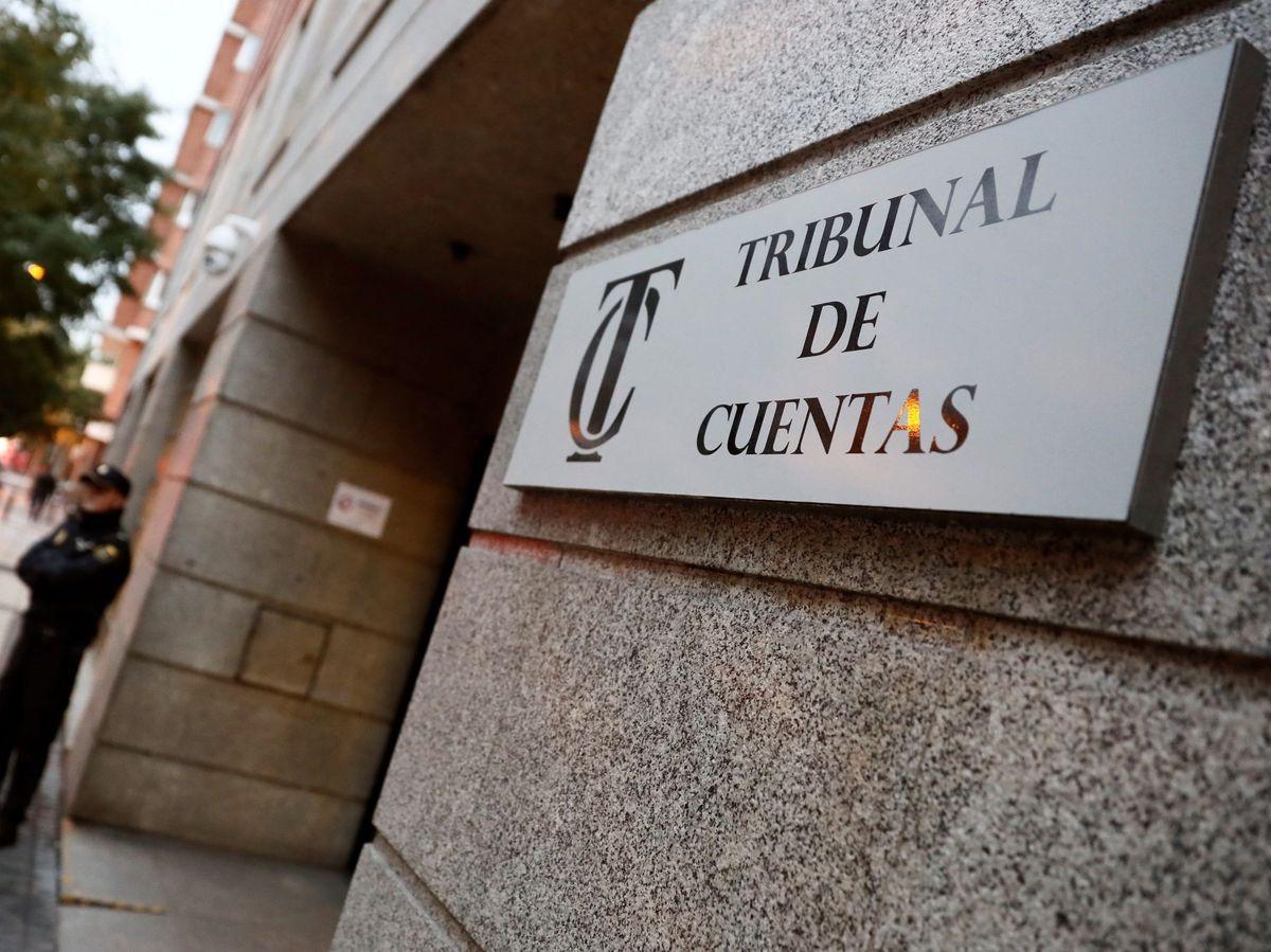 Foto: Vista de la entrada del Tribunal de Cuentas. (EFE)
