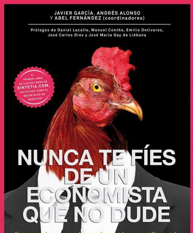 Foto: Portada del nuevo libro de los autores del blog Sintetia; javier García, Andrés Alonso y Abel Fernández