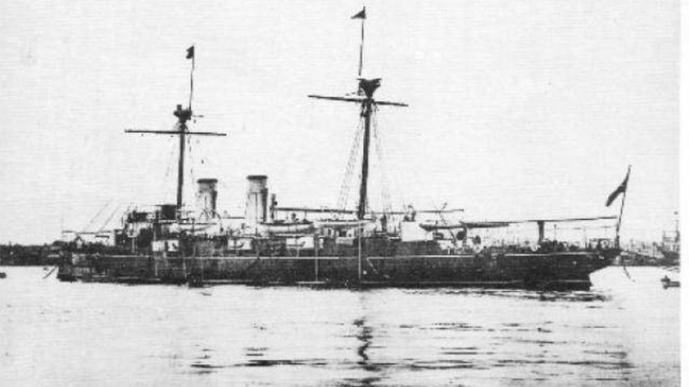 Foto: El crucero Reina Regente.