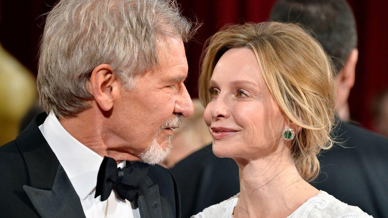 Harrison y Calista. (Getty)