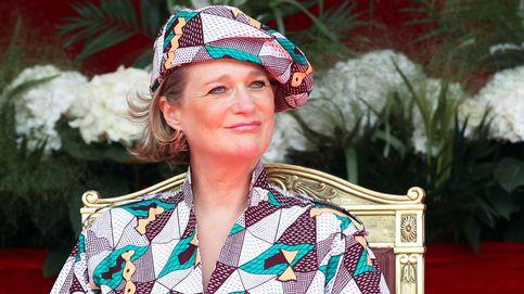 El gran debut de Delphine de Bélgica como princesa y su particular look con mensaje