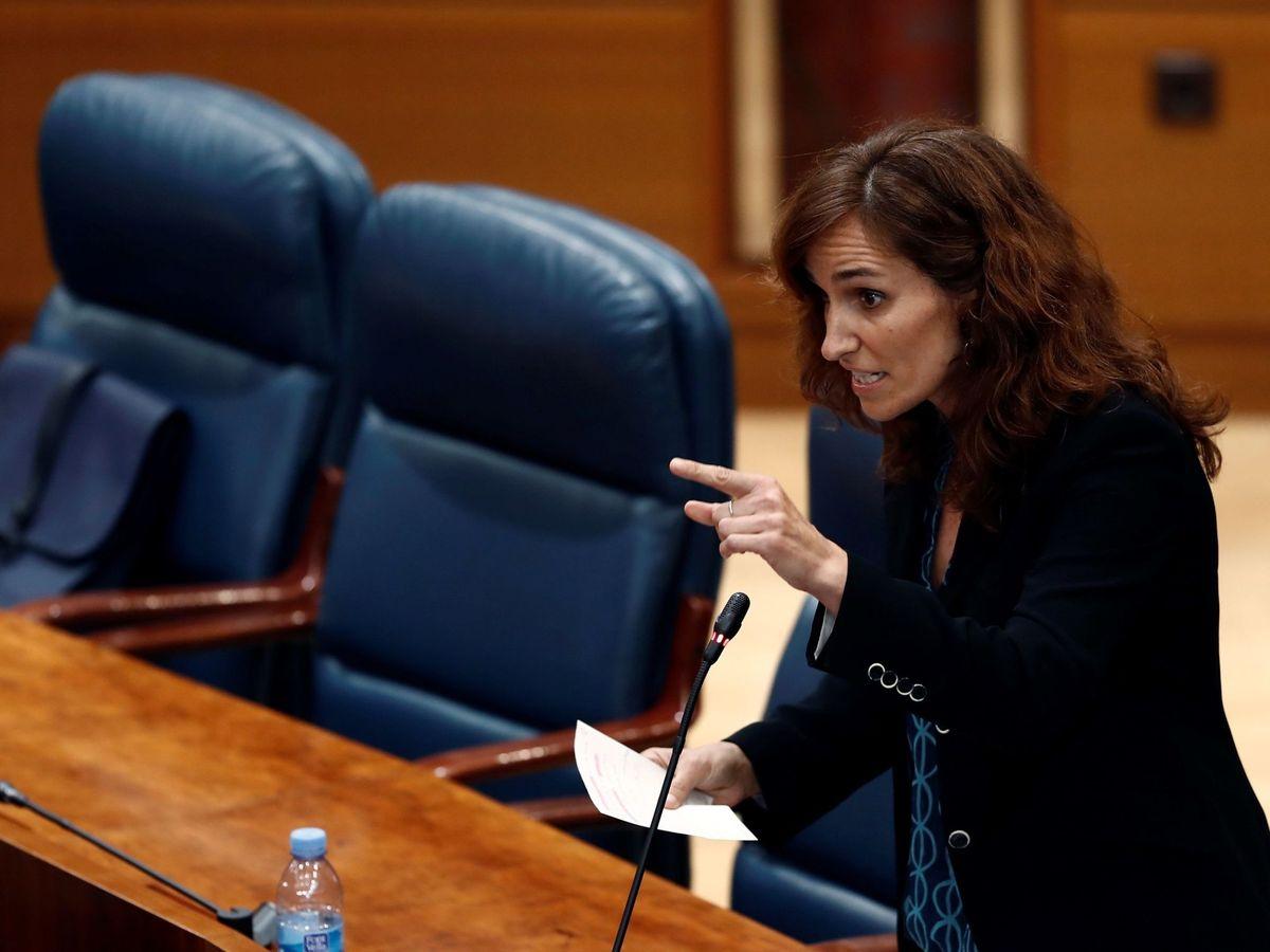 Foto: La diputada de Más Madrid, Mónica García Gómez. (EFE)