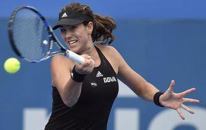 Garbiñe se desinfla ante Serena que remonta y elimina a la española