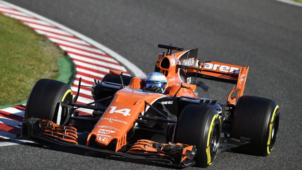 Foto: Fernando Alonso debería sufrir en las últimas carreras con Honda. (EFE)