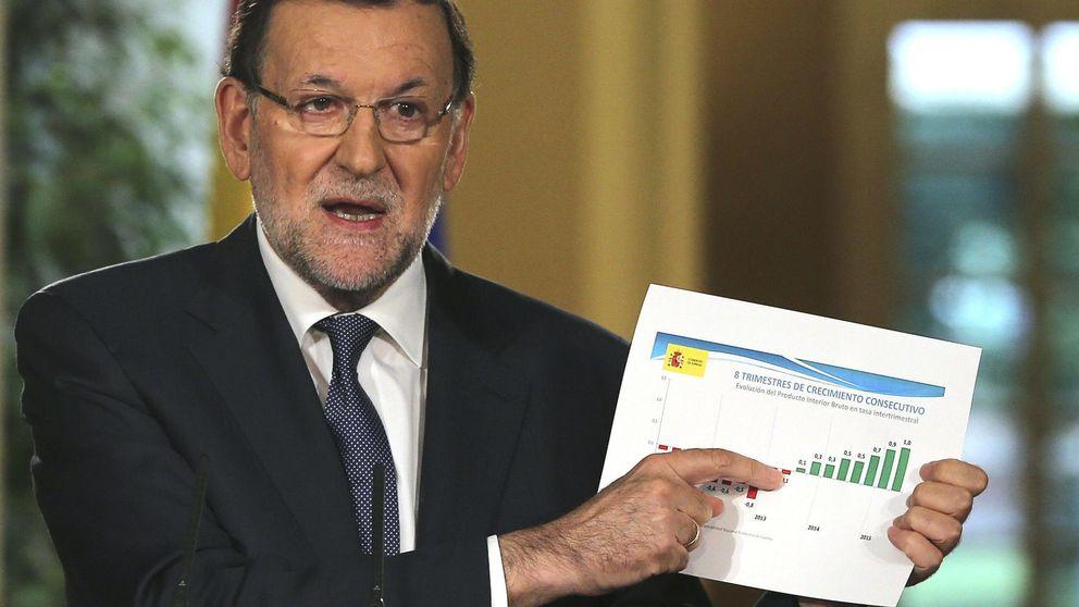 Rajoy proclama que España ha entrado en un círculo virtuoso y no hace autocrítica