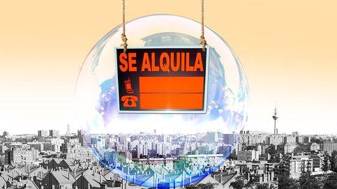 Seis mapas para entender el 'boom' del alquiler en Madrid y Barcelona