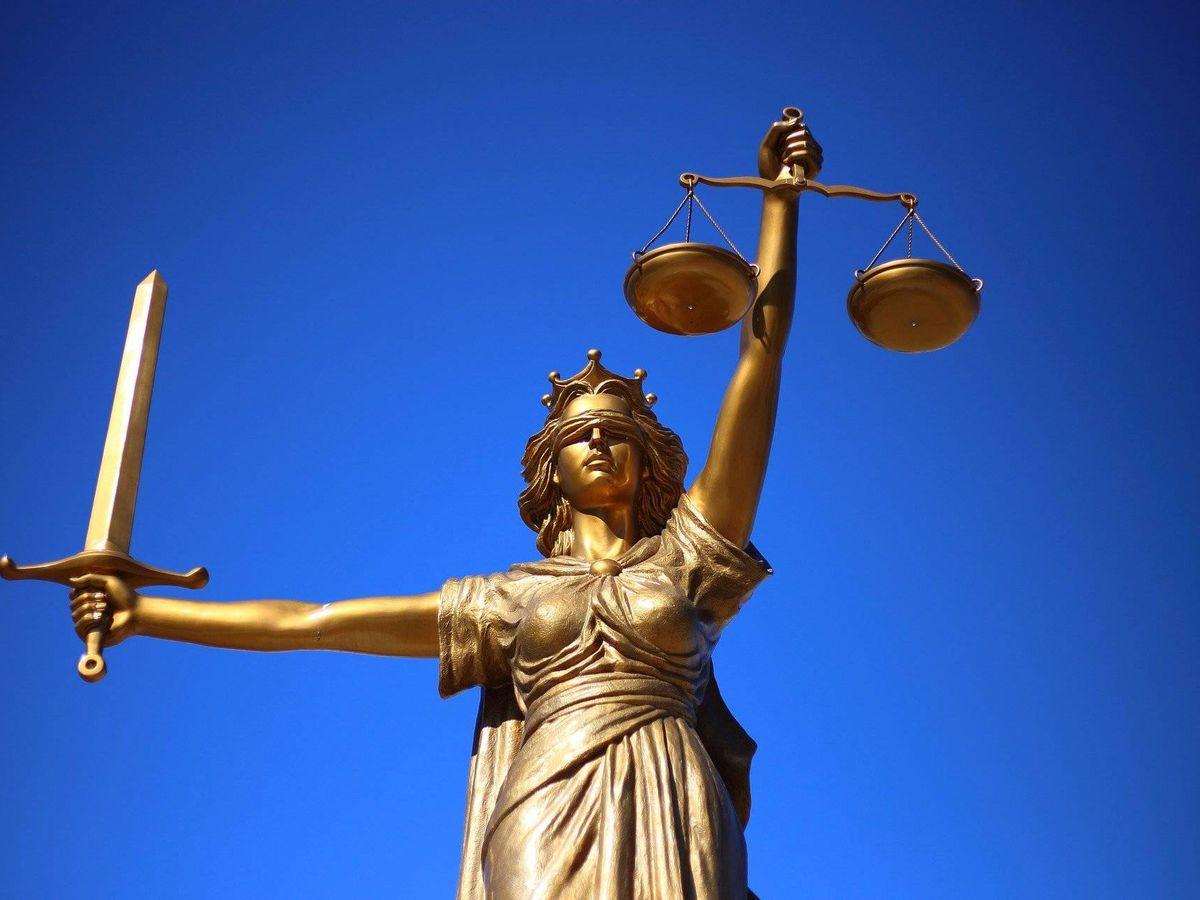 Foto: La Estatua de la Justicia