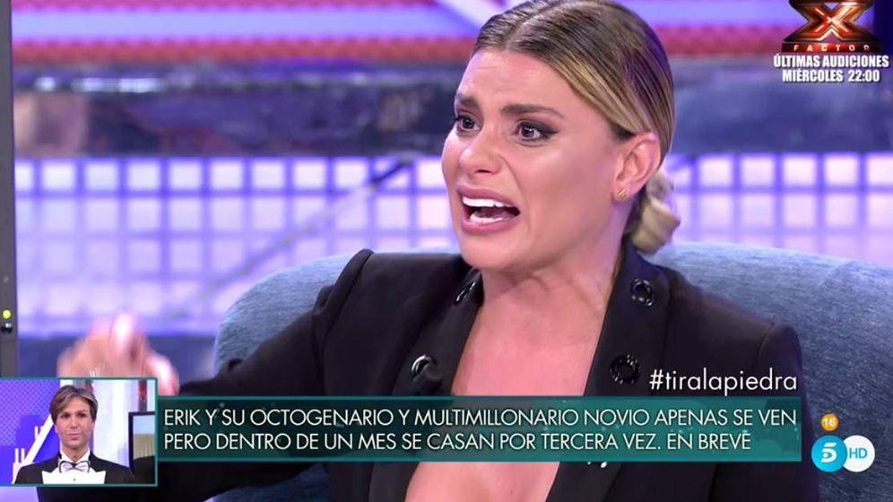 Foto: María Lapiedra en 'Sábado Deluxe'.