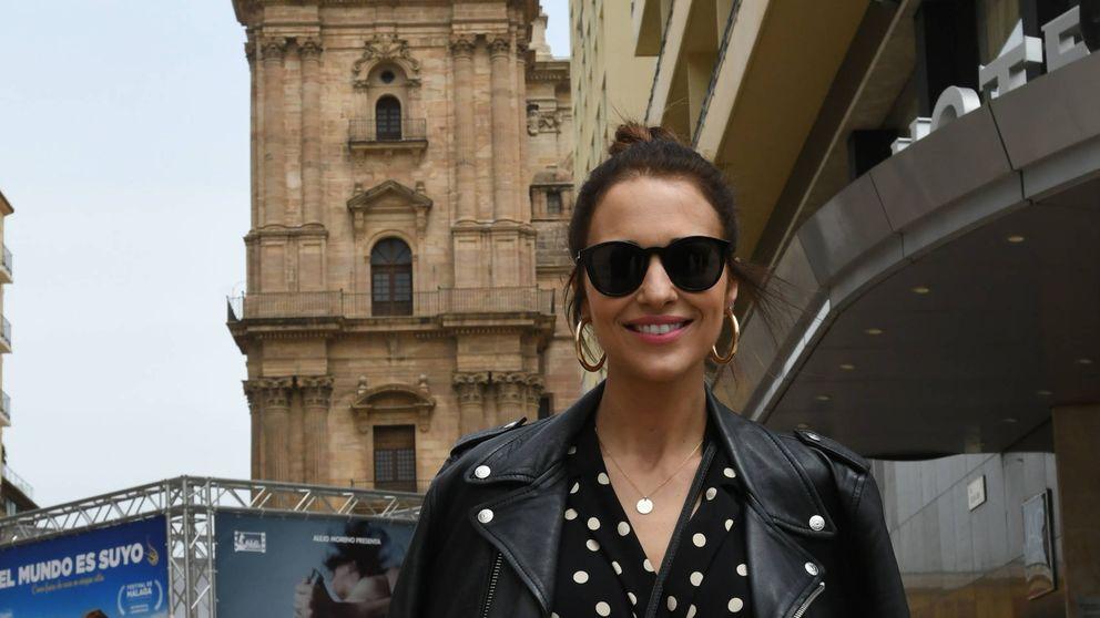 Paula Echevarría descubre a su doble idéntica en el rodaje de 'Los nuestros 2'