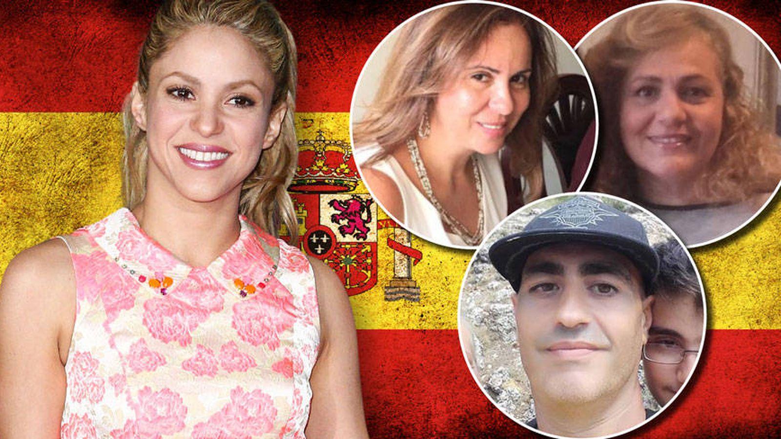 Foto: Fotomontaje de Shakira y su familia. (Vanitatis)
