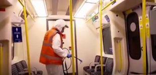 Post de Banksy irrumpe en el metro de Londres con nueva obra: