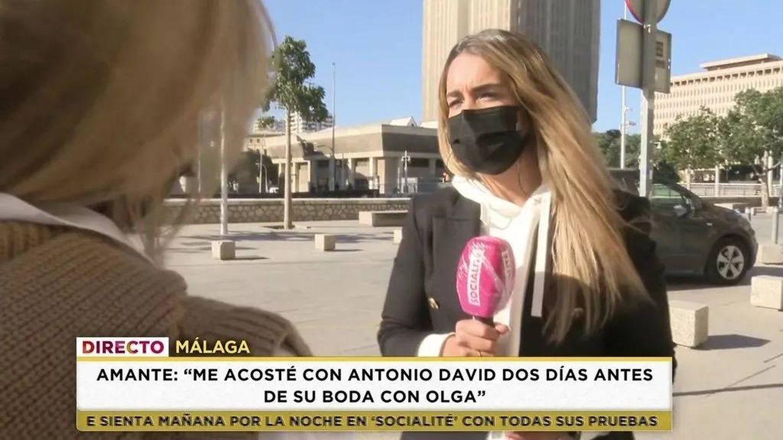 María Patiño enseña (por error) la cara de la supuesta amante de Antonio David Flores