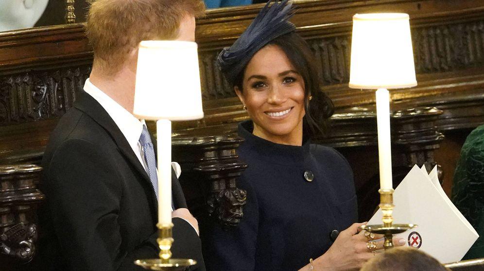 Foto:  Meghan y el príncipe Markle. (Getty)