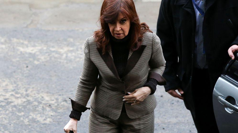 Foto: Cristina Kirchner tras declarar. (Reuters)
