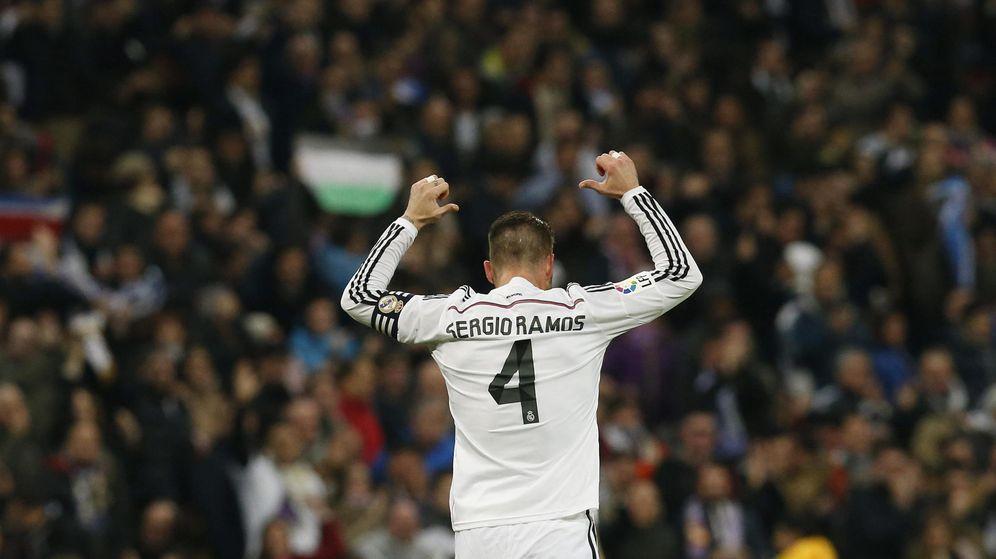 Foto: Sergio Ramos celebrando un gol esta temporada.
