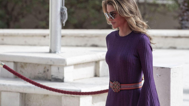 El secreto detrás del último (y maravilloso) caftán de la reina Rania de Jordania