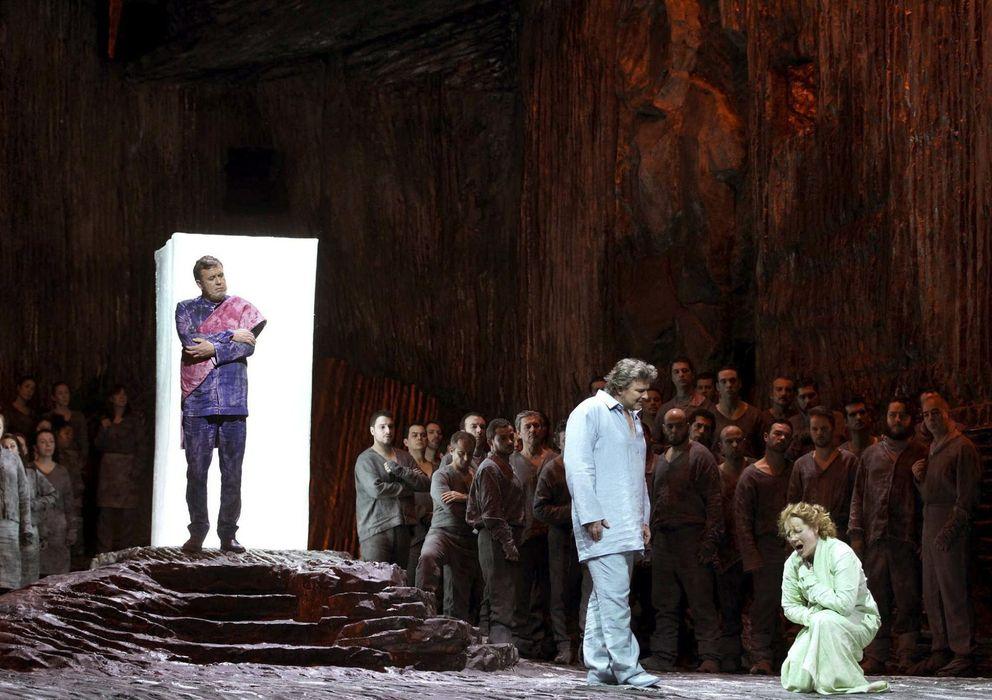 Foto: Ensayo general de la ópera lohengrin