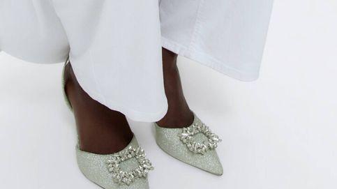 Estos zapatos de Uterqüe son para novias que aman el brillo