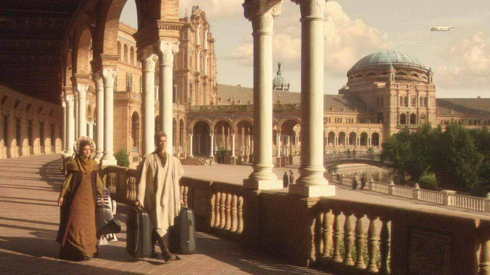 Resultado de imagen de plaza españa sevilla star wars