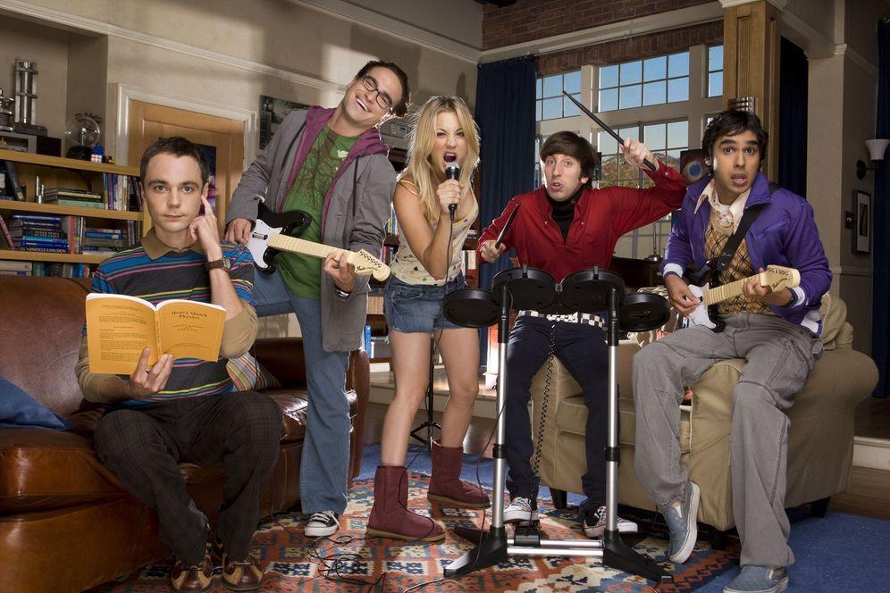 Foto: Los personajes de 'The Big Bang Theory', por detrás de los granadinos en el ránking (Atresmedia)