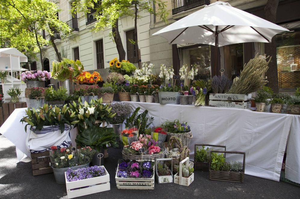 Foto: El Mercado de las Flores está en pleno barrio de Salamanca.