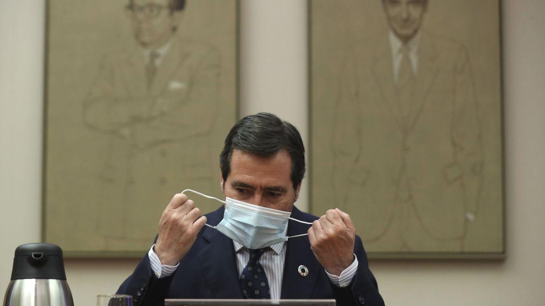 Foto: El presidente de la CEOE, Antonio Garamendi. (EFE)