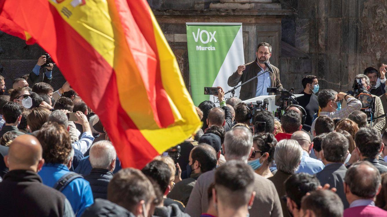 El Gobierno incoa un expediente sancionador a Vox por el acto masivo de Abascal en Murcia