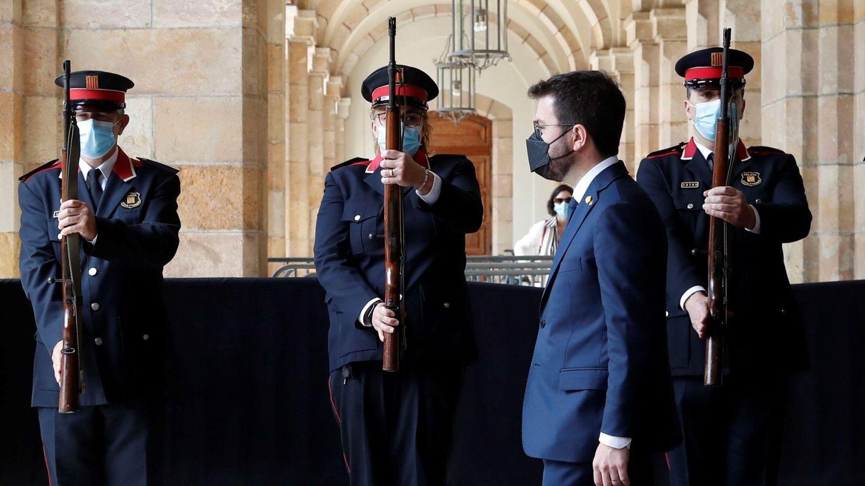 El 'president' de la Generalitat, Pere Aragonès. (EFE)