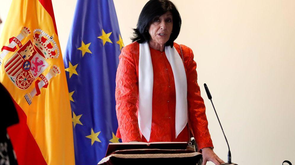 Foto: La nueva secretaria de Estado de Defensa, Esperanza Casteleiro. (EFE)