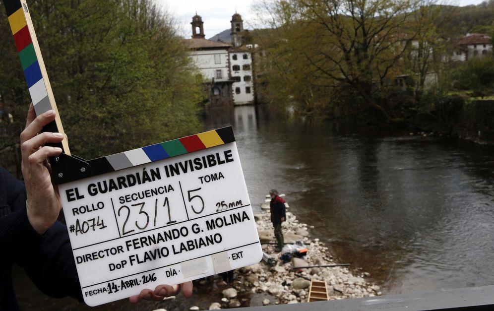 Foto: Rodaje de la película 'El guardian invisible'. (EFE)