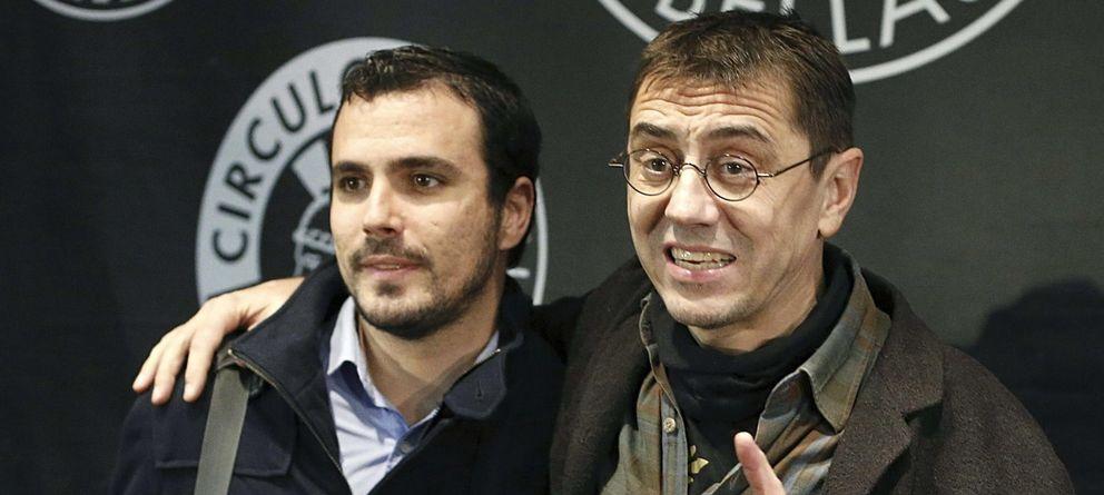Podemos sólo quiere pactos con la nueva IU de Tania o Garzón... tras las elecciones