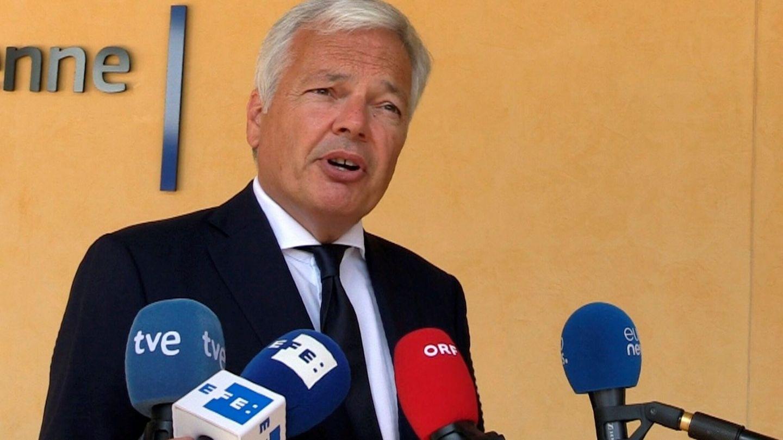 Reynders, comisario de Justicia. (EFE)