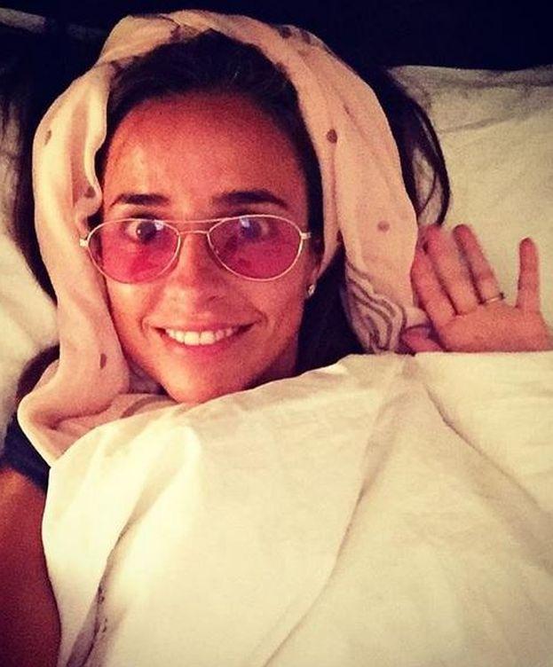 Foto: Carmen Alcayde caracterizada como #Concursantedesdemicasa (Instagram)