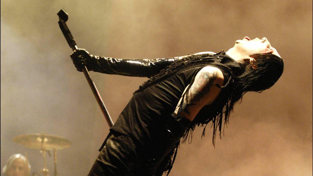 Foto: Marilyn Manson en una imagen de archivo. (Gtres)